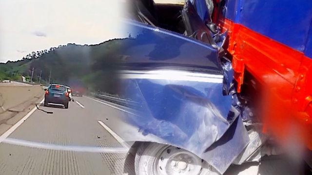고속도로 위, 안전거리 확보의 중요성