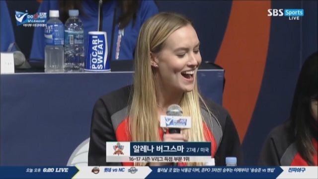 [미디어데이 여자부] 외국인 선수들 소개 및 각오 썸네일 이미지