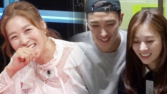 장신영·강경준, 궁합도 완벽한 복덩이 커플 '찹쌀본능'