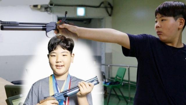 백발백중! 12살 소년의 놀라운 사격 실력