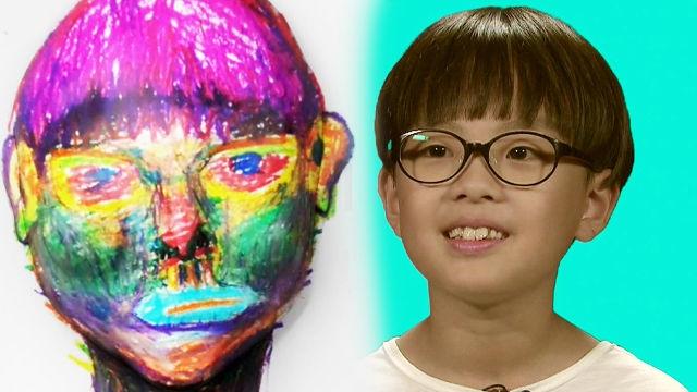 마음의 눈으로 그림을 그리는 '10살 미술 영재'