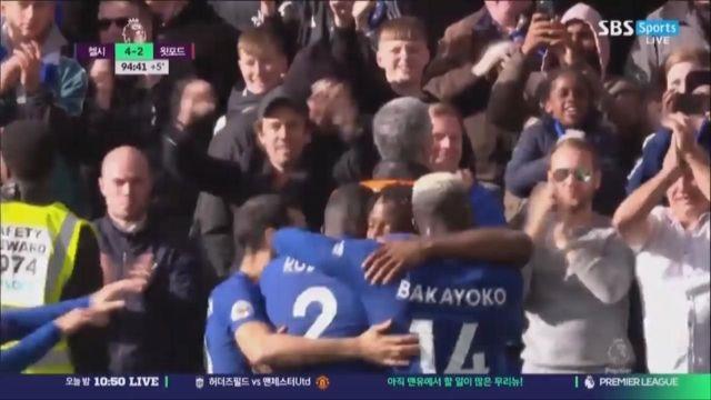 [첼시 vs 왓포드] 승부를 끝내는 바추아이의 쐐기골 썸네일 이미지