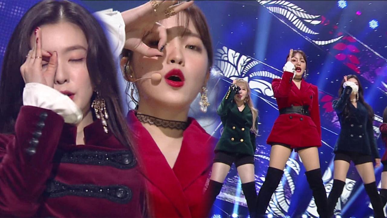 톡톡 튀는 매력들 레드벨벳의 무대 피카부