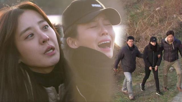 박은혜, 자살하려는 박태인 막아 체포 성공! 썸네일 이미지