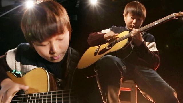 마틴 콘테스트 우승, 천재 기타리스트 13살 김진산 썸네일 이미지