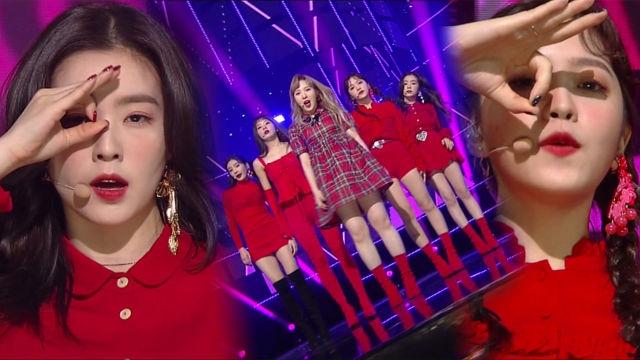 대세 걸그룹 '레드벨벳'의 톡톡 튀는 무대 '피카부' 썸네일 이미지