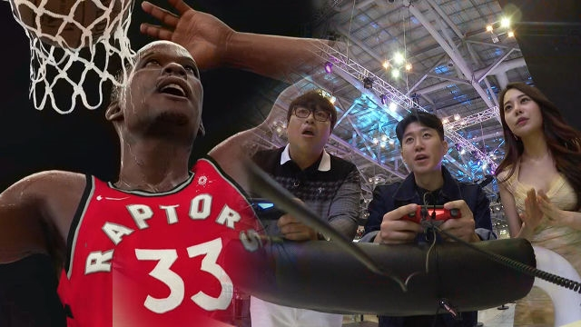 덩크슛 본능 일으키는 농구 게임 'NBA 2K18'
