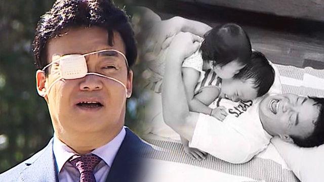 백종원, 막내딸에게 눈 부상당한 후 궁예 포스 '관심법 방출'