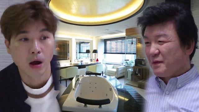 [선공개] 박수홍, 대부 하우스 구경에 눈이 휘둥그레!