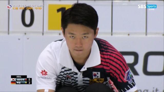[혼성 컬링 세계선수권] 대한민국 vs 독일 하이라이트 썸네일 이미지