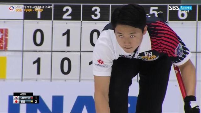 [혼성 컬링 세계선수권] 한국 vs 일본 - 굿샷! 깔... 썸네일 이미지
