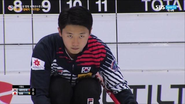 [혼성 컬링 세계선수권] 한국 vs 일본 - 길을 여는... 썸네일 이미지