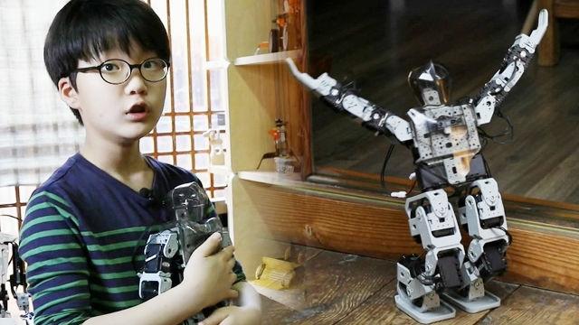 넘치는 흥과 따뜻한 마음씨를 가진 '10살 로봇 공학자'