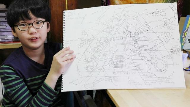10살 로봇 박사 준규가 가장 만들고 싶은 것 '재난구조로봇'