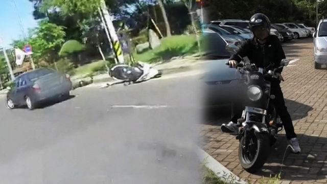 오토바이 운전자에 더욱 '치명적 유턴 사고'