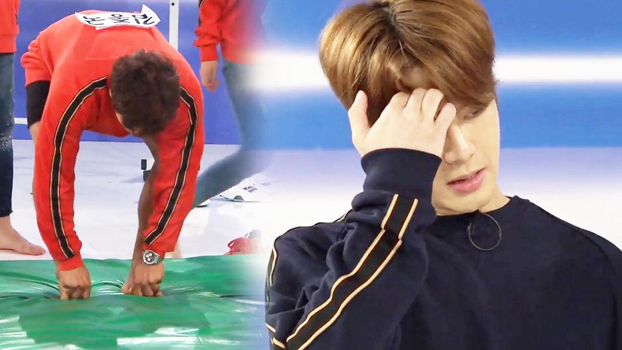 """잭슨, 김종국과 승부 전 새어 나온 마음의 소리 """"하아…"""" 썸네일"""