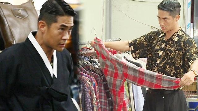 배정남, 구제 시장을 점령한 상남자 모델 '옷이 배정남빨'