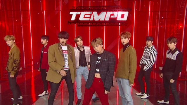 K-POP 킹! 더욱 강렬해진 'EXO'의 파워풀한 무대 'Tempo'