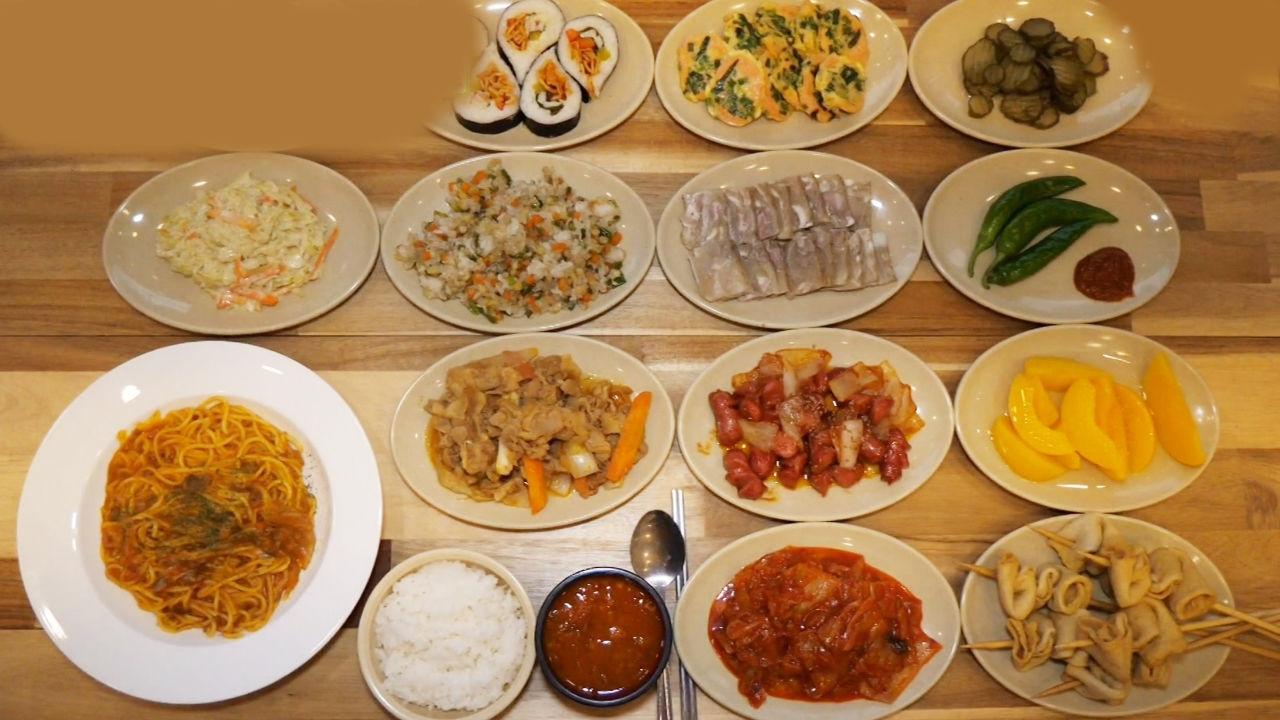 착한 맛집, 스파게티와 한식 코스 무제한 8,000원