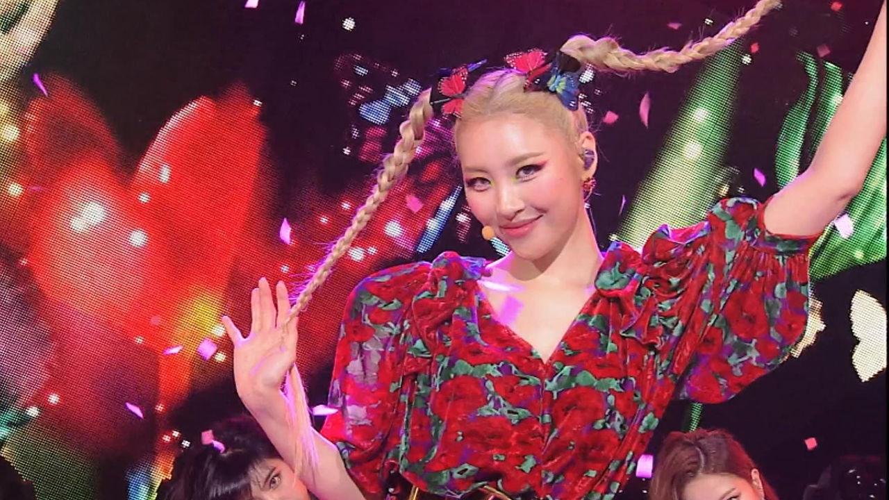 K-POP 흥행퀸 선미의 압도적인 무대 장악력! 날라리