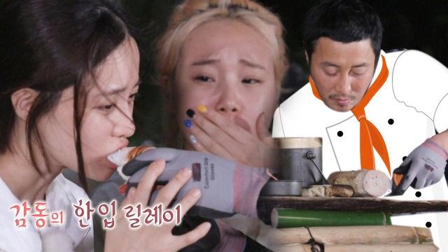 정법 멤버들, 5성급 호텔급 코스요리에 감동♥