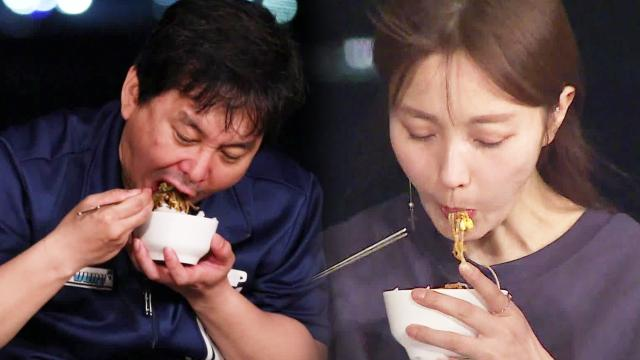 '불청 포장마차' 윤기원, 남해 아귀찜 먹방 (ft. 나도 먹고 싶다)
